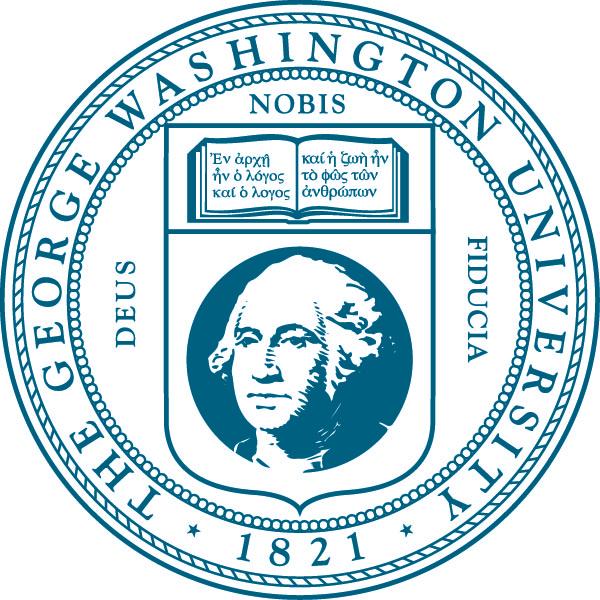 The George Washington University seal.