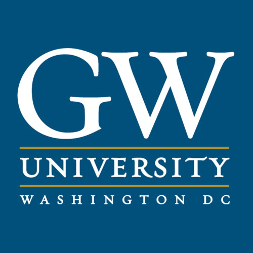 The George Washington University logo.