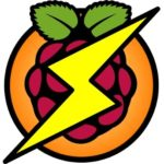 A raspi-blitz logo.